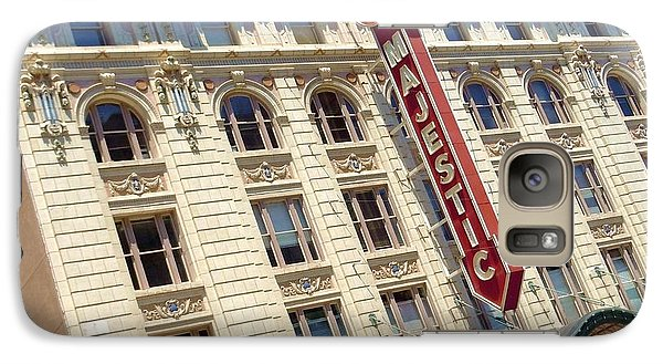 Galaxy Case featuring the photograph The Majestic Theater Dallas #1 by Robert ONeil