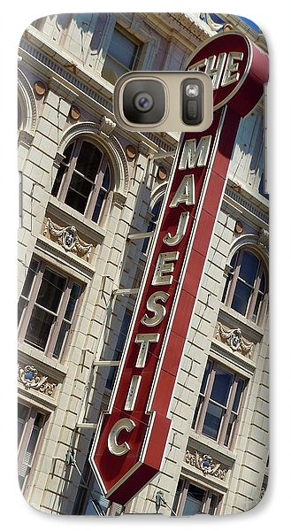 Galaxy Case featuring the photograph The Majestic Theater Dallas #2 by Robert ONeil