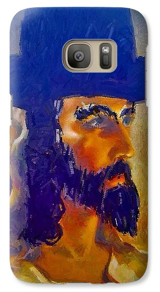 Galaxy Case featuring the painting The Man by Lisa Piper