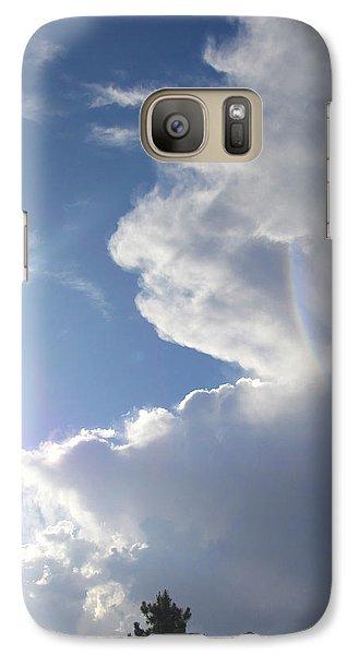 Galaxy Case featuring the photograph Rainbow Tears by Deborah Moen