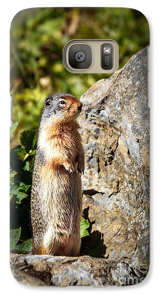 The Marmot Galaxy S7 Case by Robert Bales