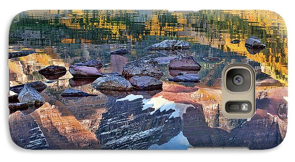 Galaxy Case featuring the photograph The Maroon Bells Reflected by Jim Garrison