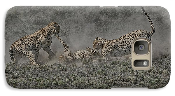 Galaxy Case featuring the photograph The Mating Game 2 by Gary Hall