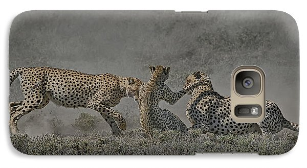 Galaxy Case featuring the photograph The Mating Game by Gary Hall