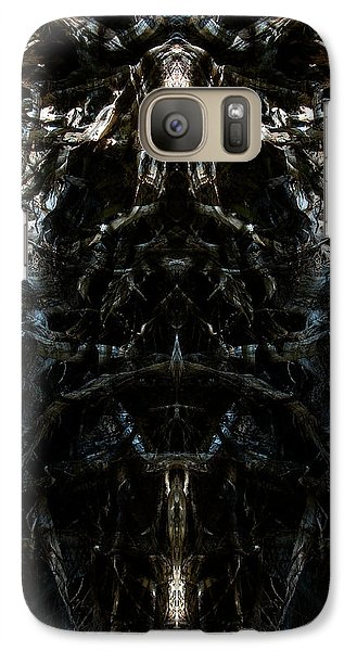 Galaxy Case featuring the photograph The Maw Of Evil by Christophe Ennis