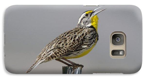 The Meadowlark Sings  Galaxy S7 Case
