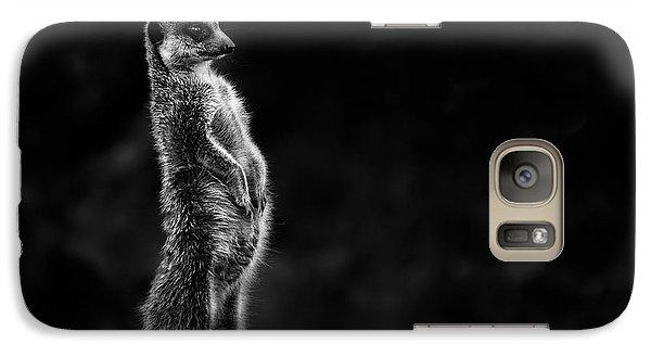 Meerkat Galaxy S7 Case - The Meerkat by Greetje Van Son