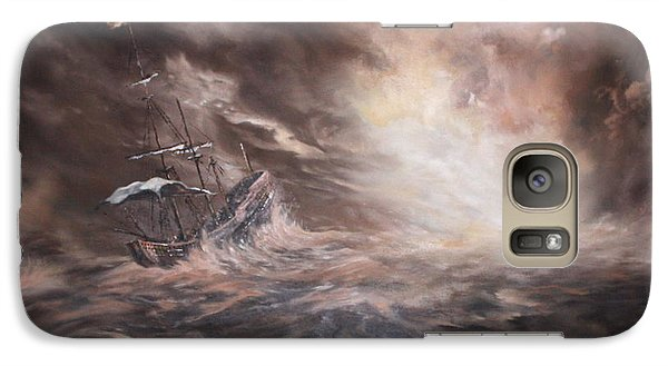 Galaxy Case featuring the painting The Merchant Royal by Jean Walker