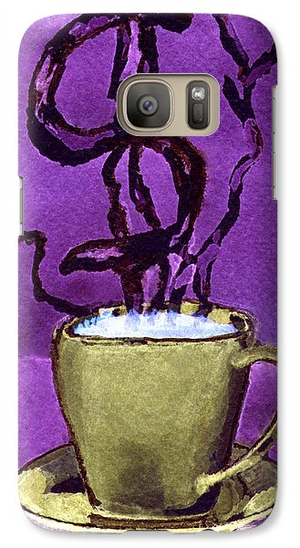Galaxy Case featuring the painting The Midas Cup by Paula Ayers