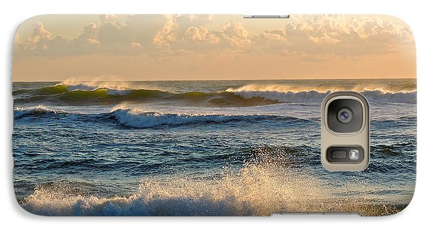 Galaxy Case featuring the photograph The Mighty Sea by Eve Spring