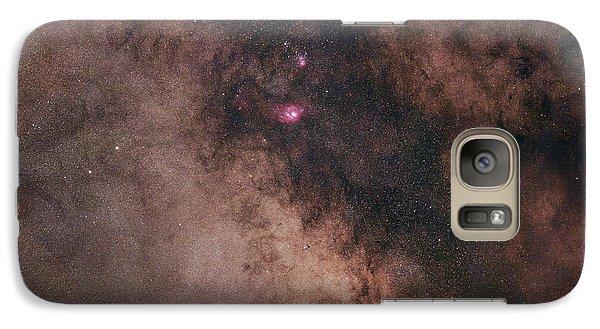 Galaxy Case featuring the photograph Summer Night Sky by Dennis Bucklin