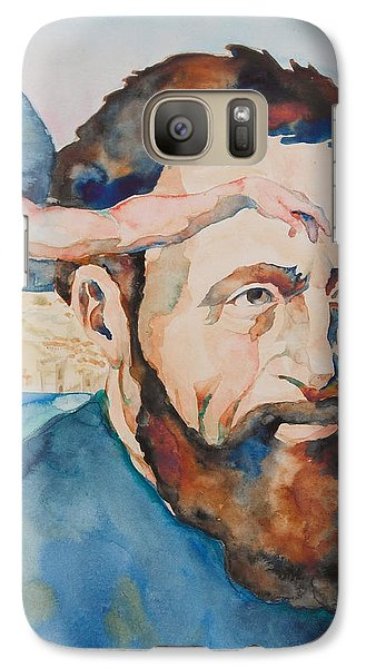 Galaxy Case featuring the painting The Mind Of Michelangelo by Michele Myers