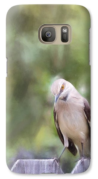 Mockingbird Galaxy S7 Case - The Mockingbird by David and Carol Kelly