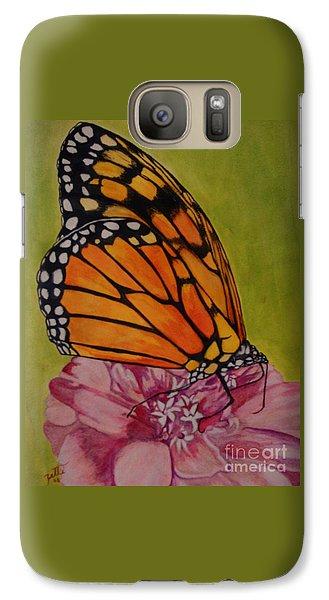 The Monarch Galaxy S7 Case by Suzette Kallen