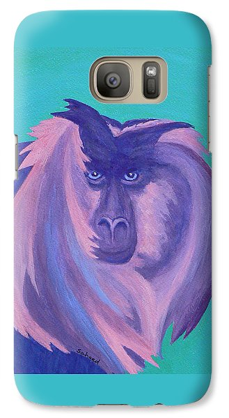 Galaxy Case featuring the painting The Monkey's Mane by Margaret Saheed