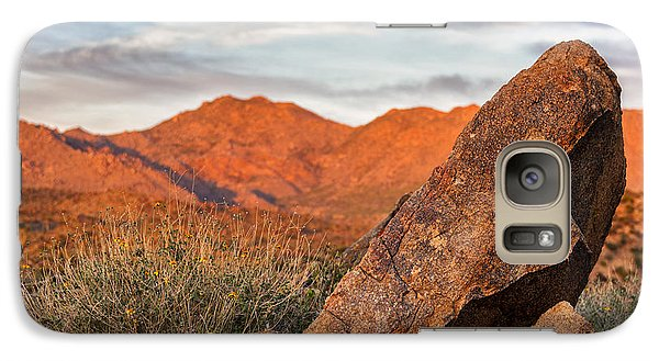 Galaxy Case featuring the photograph The Monolith by Anthony Citro