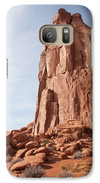 Galaxy Case featuring the photograph The Monolith by John M Bailey