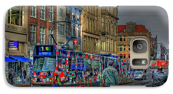 Galaxy Case featuring the photograph The Morning Rhythm by Ron Shoshani