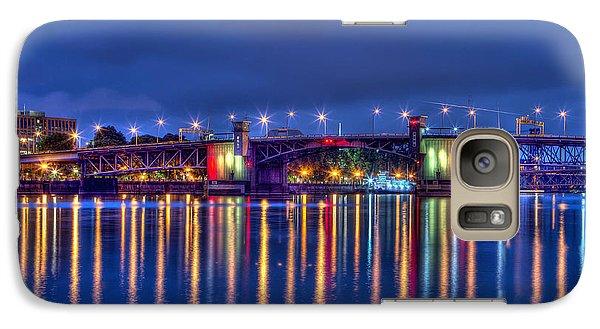 Galaxy Case featuring the photograph Morrison Bridge - Pdx  by Thom Zehrfeld