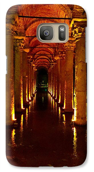 Galaxy Case featuring the photograph The Most Romantic Place Of Istanbul by Zafer Gurel