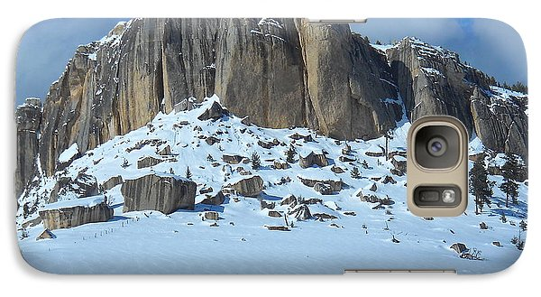 Galaxy Case featuring the photograph The Mountain Citadel by Michele Myers