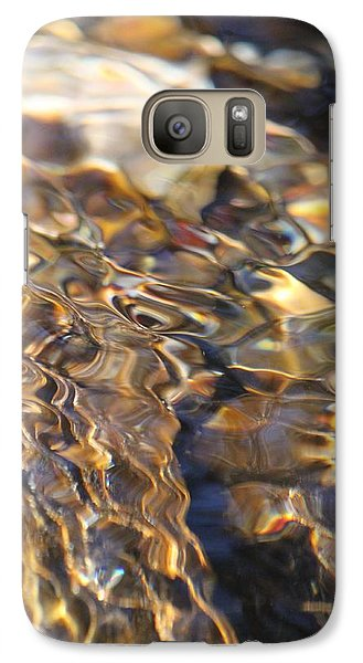 Galaxy Case featuring the photograph The Music And Motion Of Water by Amy Gallagher