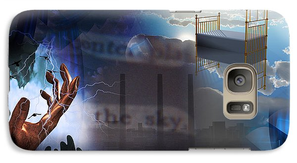Galaxy Case featuring the digital art The Necessity Of Peace by Bruce Rolff