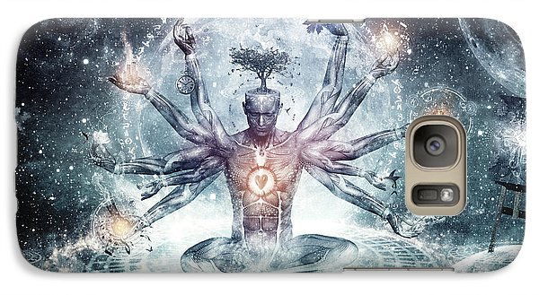 The Neverending Dreamer Galaxy Case by Cameron Gray