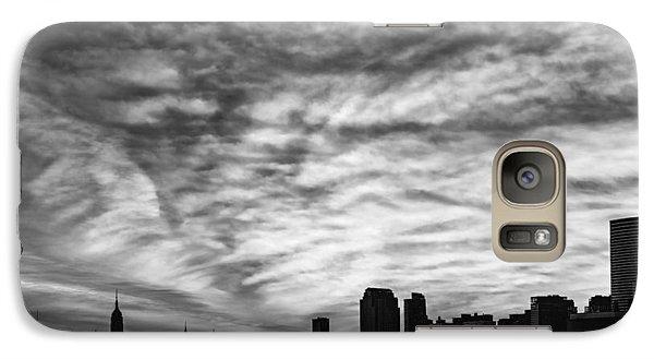 The New York City Skyline Awakens Bw Galaxy Case by Susan Candelario