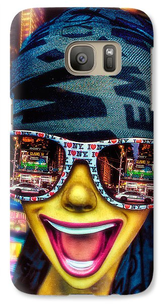 Galaxy Case featuring the photograph The New York City Tourist by Chris Lord