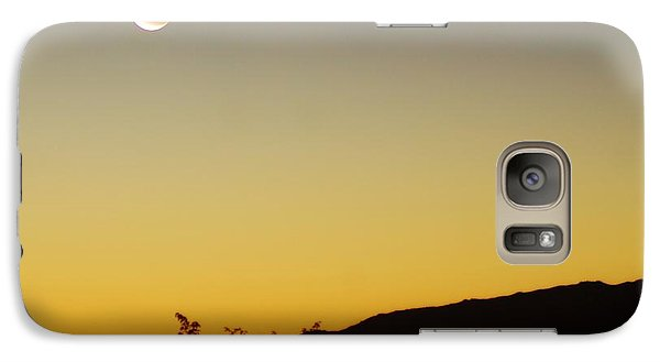 Galaxy Case featuring the photograph The Night Moves On by Angela J Wright