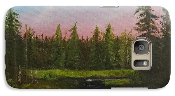 Galaxy Case featuring the painting The Northeast by Sharon Schultz