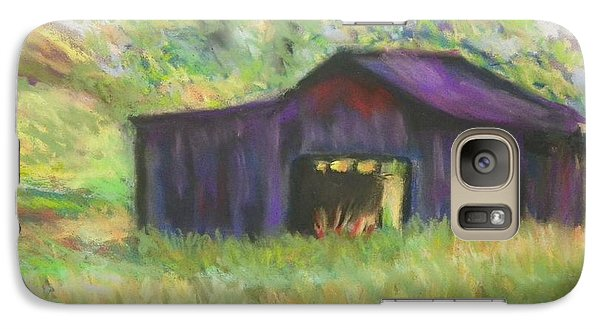 Galaxy Case featuring the photograph The Old Barn I by Shirley Moravec