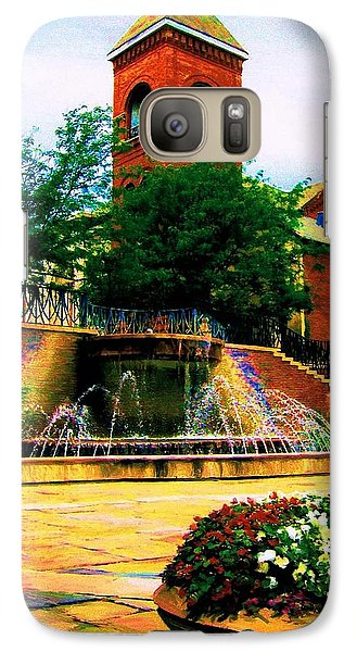 Galaxy Case featuring the photograph The Old Church by P Dwain Morris