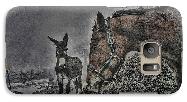 Galaxy Case featuring the photograph The Old Grey Mare by Kimberleigh Ladd