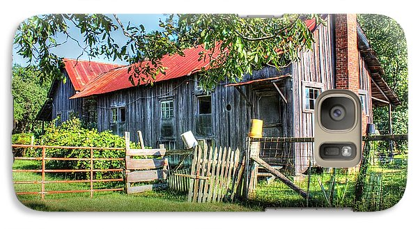 Galaxy Case featuring the photograph The Old Home Place by Lanita Williams