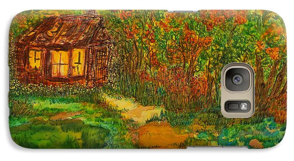 Galaxy Case featuring the painting The Old Homestead by Susan D Moody
