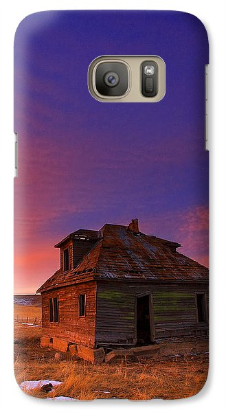 Galaxy Case featuring the photograph The Old House by Kadek Susanto