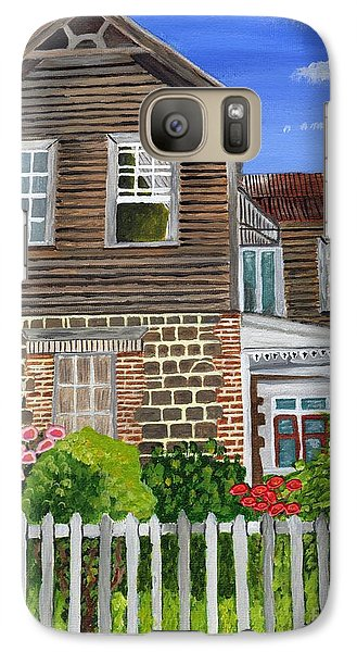 Galaxy Case featuring the painting The Old House by Laura Forde