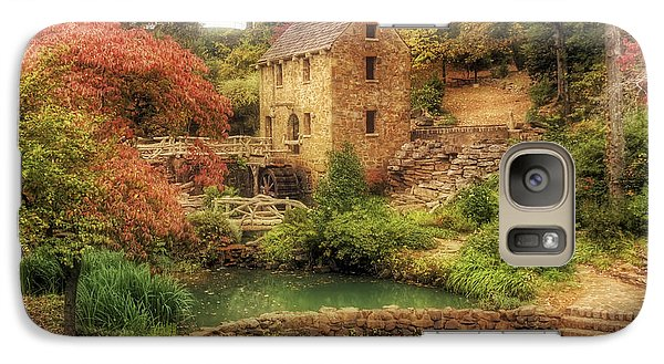 The Old Mill In Autumn - Arkansas - North Little Rock Galaxy S7 Case