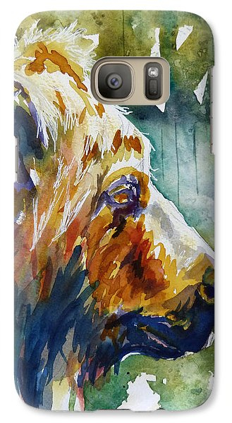 Galaxy Case featuring the painting The Old One by P Maure Bausch