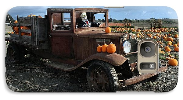 Galaxy Case featuring the photograph The Old Pumpkin Patch by Michael Gordon