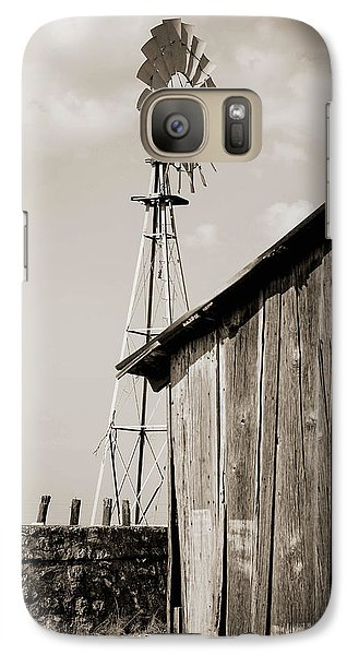 Galaxy Case featuring the photograph The Old Ranch by Amber Kresge