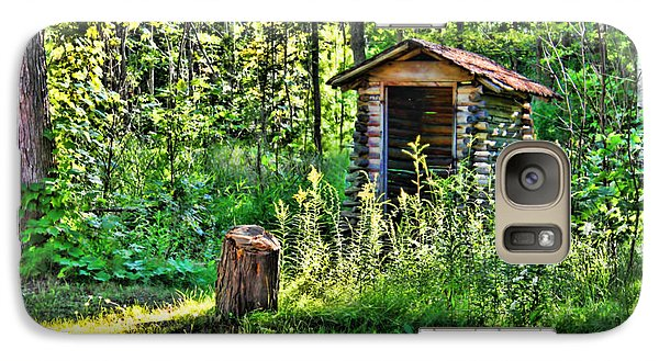 Galaxy Case featuring the photograph The Old Shed by Cathy  Beharriell