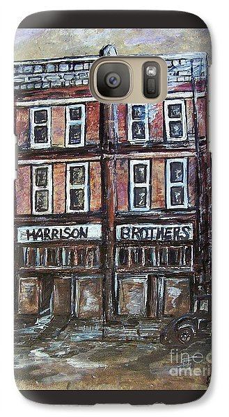 Galaxy Case featuring the painting The Old Store by Eloise Schneider