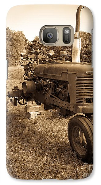 The Old Tractor Galaxy S7 Case