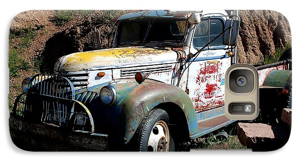 Galaxy Case featuring the photograph The Old Truck by Dany Lison