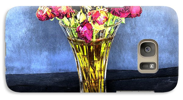 Galaxy Case featuring the photograph The Old Vase by Marwan Khoury