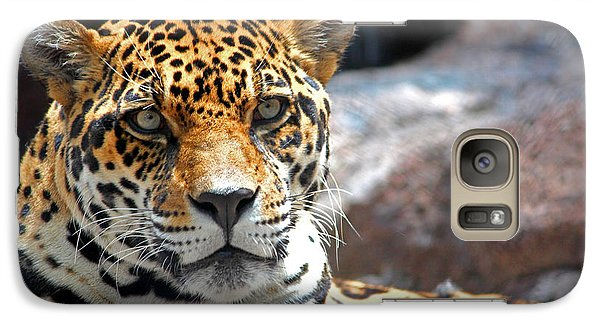 Galaxy Case featuring the photograph The Ole Leopard Don't Change His Spots by Lynn Sprowl