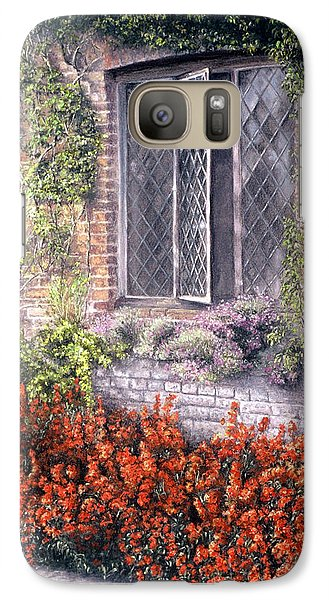 Galaxy Case featuring the painting The Open Window by Rosemary Colyer